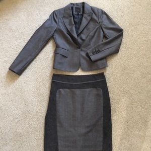 The Limited matching skirt suit